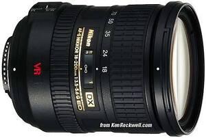 Nikon AF/S DX Nikkor 18-200mm f/3.5-5.6G ED VRII
