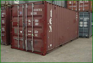 Sea Container 20' and 40' Used for Sale! London Ontario image 3
