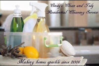 Cindy's Clean and Tidy - Making Homes Sparkle Since 2006