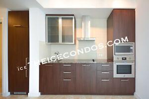 14 YORK ST - ICE CONDOS - CORNER 2 BEDROOM+ DEN W/PARKING (VIDEO