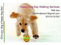 Happy Dog Day Walking Services - Give Your Dog a Happy Dog Day :)