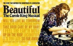 Beautiful: Carole KIng Musical (Season tickets for 2018/2019)