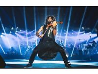 2x Ara Malikian Front Middle Stall Tickets - London 12 March Concert