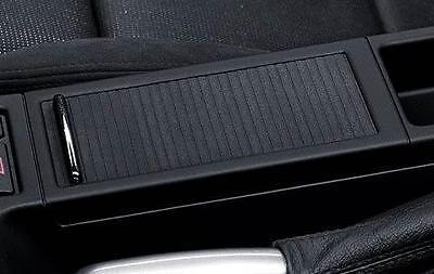 BMW Centre Console Tray Storage Insert+Cover Black E46 3 Series 51167038323