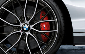 BMW OEM ///M PERFORMANCE BRAKE SYSTEM RED 2012-2016 3 AND 4 SERIES 34112450468