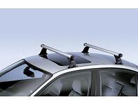 Genuine BMW E82 Aluminium Bars, Roof Rack, Ski Base, 1 Series, 3 Series, 5 GT, 82710433991