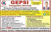 Jobs & immigration to Canada.