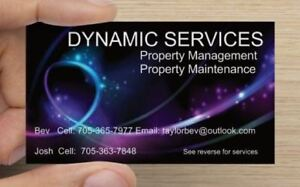 Property Management Services and more ! - Timmins and area