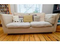 Sofa - large 2 seat, removable, washable covers