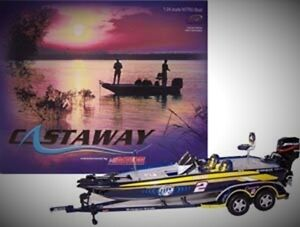 Nascar Castway Action Diecast Bass Boats