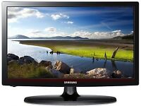 """samsung 32"""" lcd tv full hd with free view can deliver"""