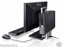 WINDOWS 7 FULL DELL COMPUTER DESKTOP TOWER Dual Core PC 4GB RAM 160GB HDD WIFI