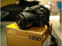 Nikon D200 + 18-70 3.5-4.5 + 32GB CF Card
