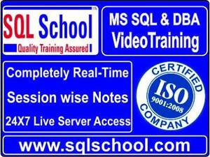 SQL DBA Video Training @ SQL School