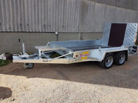 BATESON 35MD Plant Trailer with Ramp