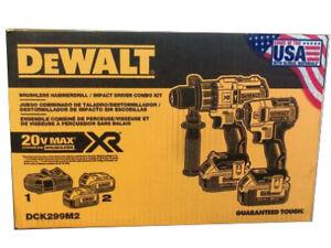 DEWALT DCK299M2 BRUSHLESS Hammerdrill/Driver Combo Kit