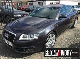 Audi A6 3.0 TDI QUATTRO S LINE SPECIAL EDITION 4dr LE MANS + FULL AUDI SERVICE HISTORY (grey) 2011