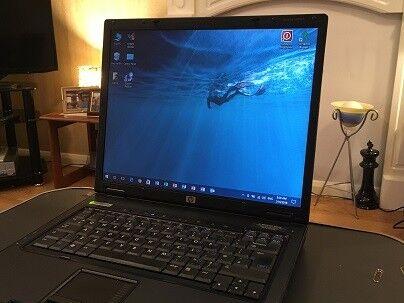HP-Compaq nx6325 Laptop + 80Gb Portable USB Hard Drive