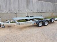 "Car Transporter Trailer - 14' X 6'1"" - Tilt with Ramps Woodford STT 090"