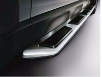 AUDI Q7 OEM Style Stainless Steel + Rubber Padded Side Steps Running Boards Side Bars