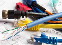 Wiring services: Data, Voice & TV cable. 416-700-6001. All GTA