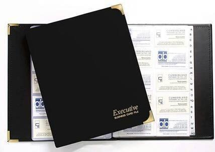 Inlaid business card box miscellaneous goods gumtree australia business card folder cumberland a4 executive 400 new reheart Choice Image