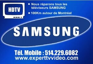 Reparation TV Samsung