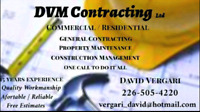 DVM Contracting Ltd / Handyman