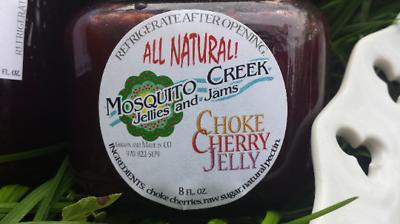 Mosquito Creek ~ Natural ~Wild Chokecherry Jelly ~ 8 oz. or 16 oz.~ Fresh