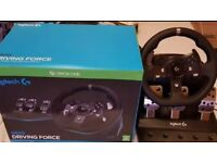 Here i have logitech g920 all working perfect perfect condition
