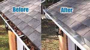 Leaf Removal & EavesTrough Cleaning & Repair Kitchener / Waterloo Kitchener Area image 3