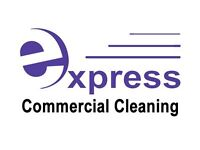 Express Commercial Cleaning provides a prompt and profestional service guaranteed. Call 07782399186