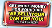Let The Pro's Sell Your Vehicle For More!