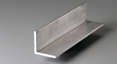 Alloy 6061 Aluminum Angle - 34 X 34 X .125 X 72 Long - Lot Of 4 Pcs