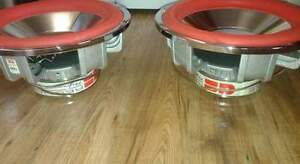 "2) 15"" G&S Redline competition subwoofers"