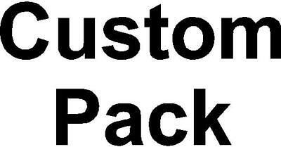 Custom Pack  - $45.00