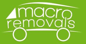 **From £20 - Macro Removals - Professional Removals and Man & Van Service**