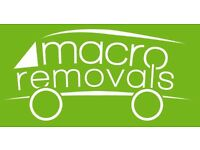 **From ��20 - Macro Removals - Professional Removals and Man & Van Service**