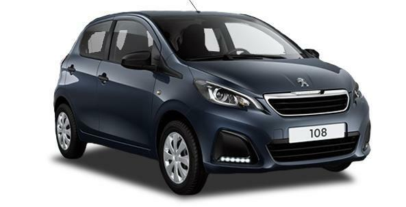 Peugeot 108 Private Lease - €189 per maand!