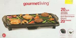 Gourmet Living Jumbo Electric Griddle (20-Inch)