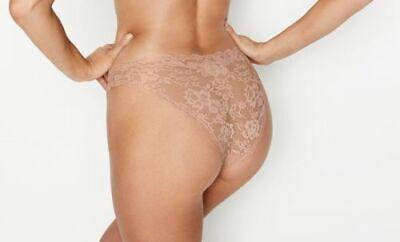NEW Victoria Secret Dream Angels Floral Lace Mesh Cheekini - U Pick Panty - XL
