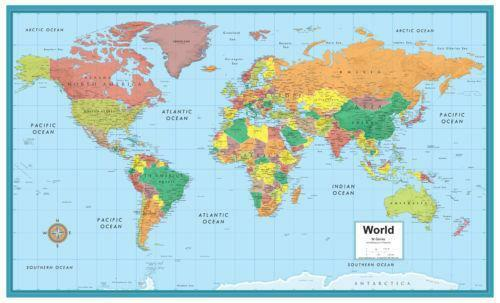 Refreshing image within map of world printable