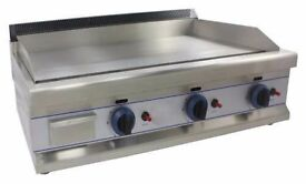 Griddle Gas 90cm*CHROME*- EN109 Catering equipment