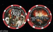 Motley Crue Casino Chip