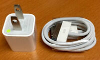 New Apple iPhone 4 4s iPad iPod wall charger cable