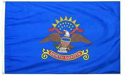 NEW 3x5 ft NORTH DAKOTA STATE OF FLAG