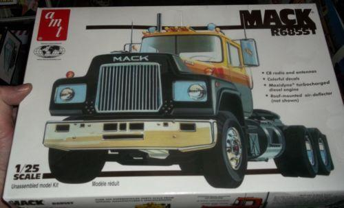 Mack Truck Model Kits : Mack model kit ebay