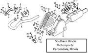Honda XL350 Muffler