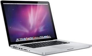 Macbook Pro 15,4 pouces