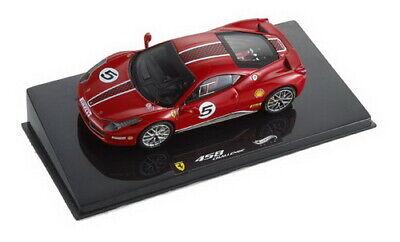 1:43 Ferrari 458 n°5 Challenge 2010 1/43 • HOT WHEELS X5504